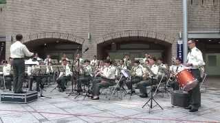 陸上自衛隊 中央音楽隊 水曜コンサート 【ノーカット】 Japan Ground Self-Defense Force Musical Band Playing.