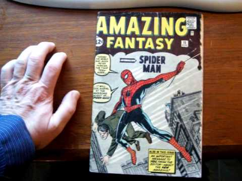 Amazing Fantasy #15 Marvel Steve Ditko Stan Lee