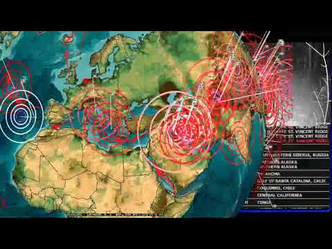 4/02/2018 -- Global Earthquake Forecast -- Large EQ expected -- West coast USA on perimeter