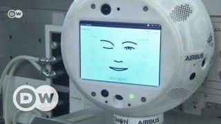 Roboter im Weltraum: CIMON begleitet Alexander Gerst auf die ISS | DW Deutsch
