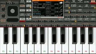 Phir Mujhe Dil Se Pukar Tu(Mohit Gaur) ORG Piano Tutorial