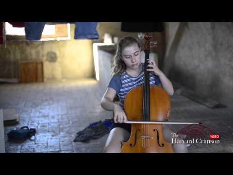 Harvard Cellist Studies Abroad