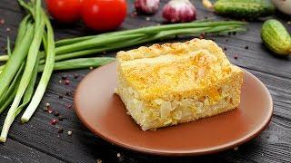 Пирог с капустой и яйцом - Рецепты от Со Вкусом