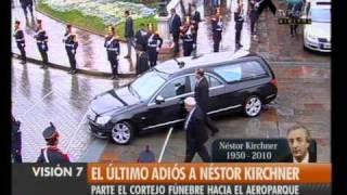 Visión Siete: El Adiós A Kirchner: Multitudinario Cortejo (1)