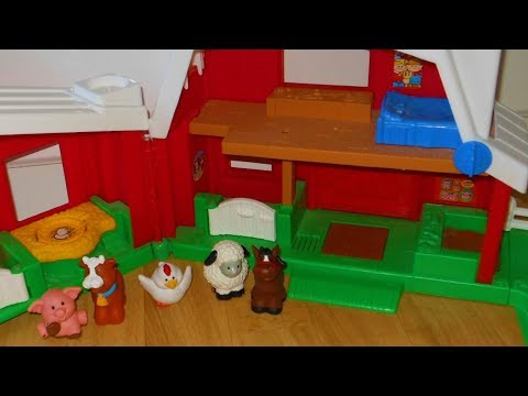 Fisher price little people farm with animals