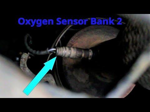 Ford Focus 2000 - 2009 Oxygen Sensor Bank 2 Location