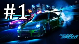 Need for Speed 2015 Gameplay Walkthrough Part 1 No Commentary (NFS 2015)