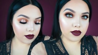 AFFORDABLE THANKSGIVING MAKEUP TUTORIAL 2016