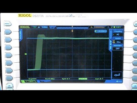 Джиттер синхронизации осциллографов Rigol