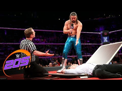 The Brian Kendrick turns his Gentleman's Duel into a clown show: WWE 205 Live, Aug. 22, 2017