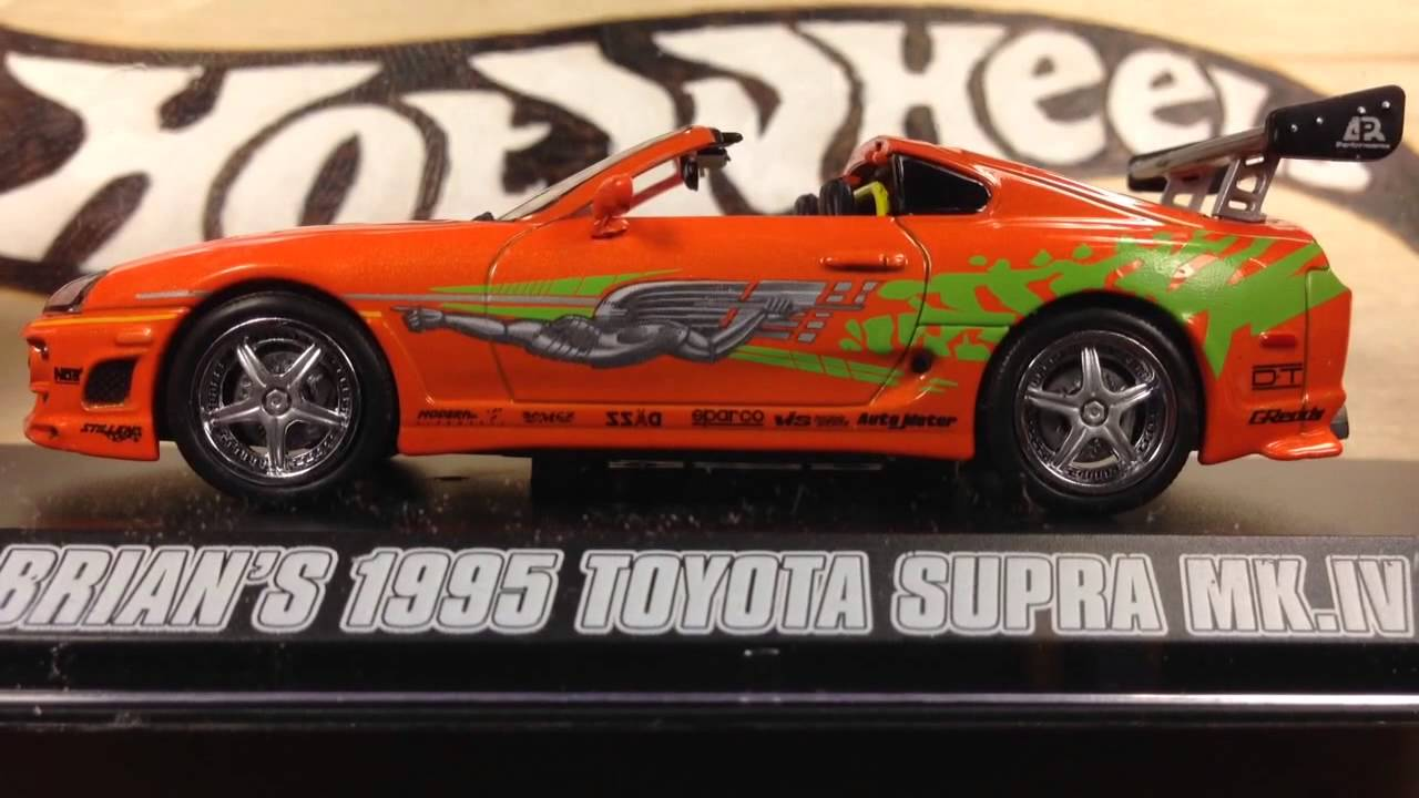 Toyota Supra From The Fast And The Furious Greenlight Fast And Furious Brian S Toyota Supra 1 43 Review