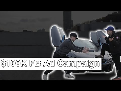 LIVE: Creating A $100K+ FaceBook Ad Campaign