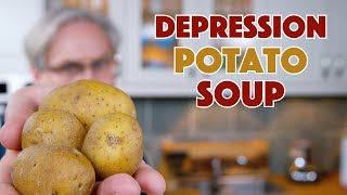 1938 Depression Era Potato Soup Recipe || Glen & Friends Cooking