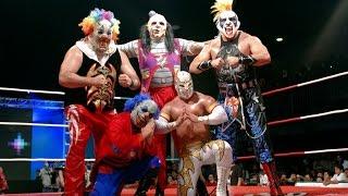 "Triple AAA ""Myzteziz, Psycho Clown, Monster Clown, Murder Clown Vs Averno, Chessman, Daga, El Zorro"""