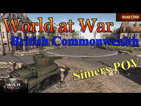 World at War Practice - British Commonwealth w/Wombat