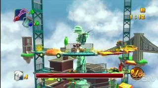 BurgerTime World Tour: Boss Gameplay