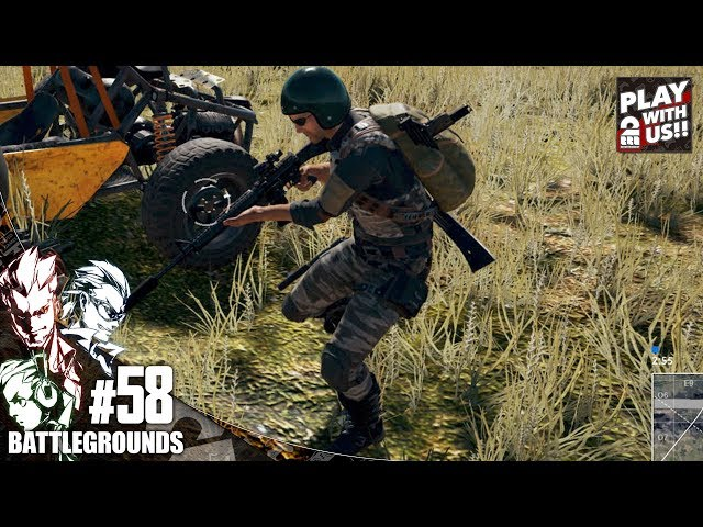 #58【TPS】GESU4の「PLAYERUNKNOWN'S BATTLEGROUNDS(PUBG)」【2BRO.】