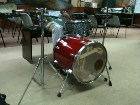 floor tom to bass drum conversion youtube. Black Bedroom Furniture Sets. Home Design Ideas