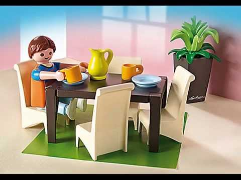 Pr sentation collection playmobil 2014 maison de ville for Salle a manger playmobil