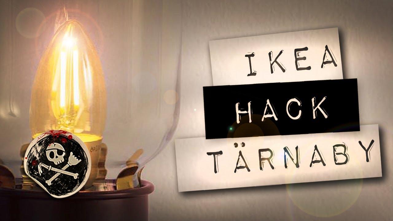 ikea hack tarnaby lampe de bureau