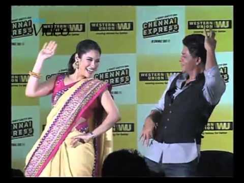 SRK Performs Lungi Dance Live