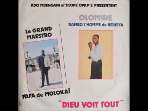 (Intégralité) Fafa de Molokaï & Koffi Olomide - Dieu voit tout, The Top 1987 HQ