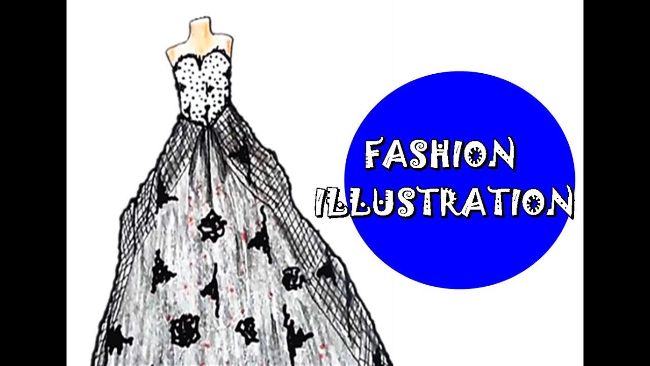 Illustration Wedding Dress Youtube