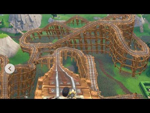 Fortnite Roller Coaster In Creative