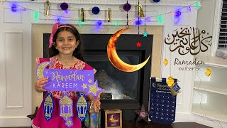 Happy RAMADAN Decoration with Sally For kids