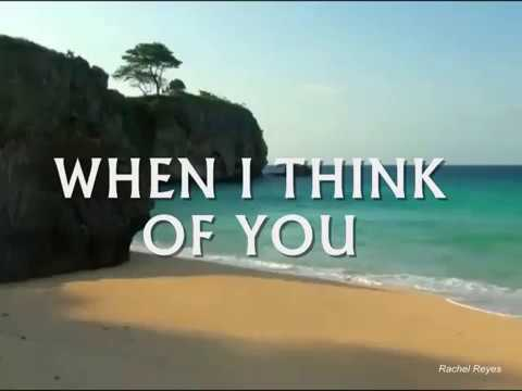 Download WHEN I THINK OF YOU - (Lyrics)
