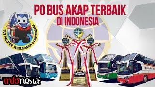 9 PO Bus AKAP Terbaik di Indonesia Pelopor Keselamatan