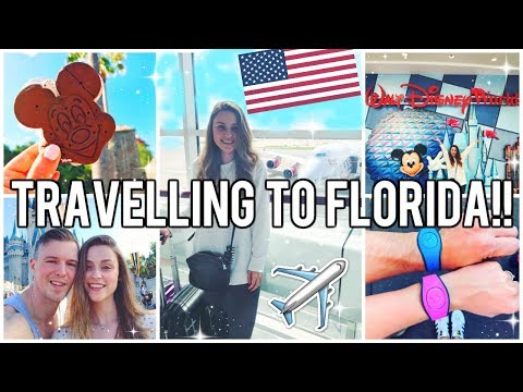 TRAVELLING TO FLORIDA 2018 - DISNEY WORLD VLOGS!!