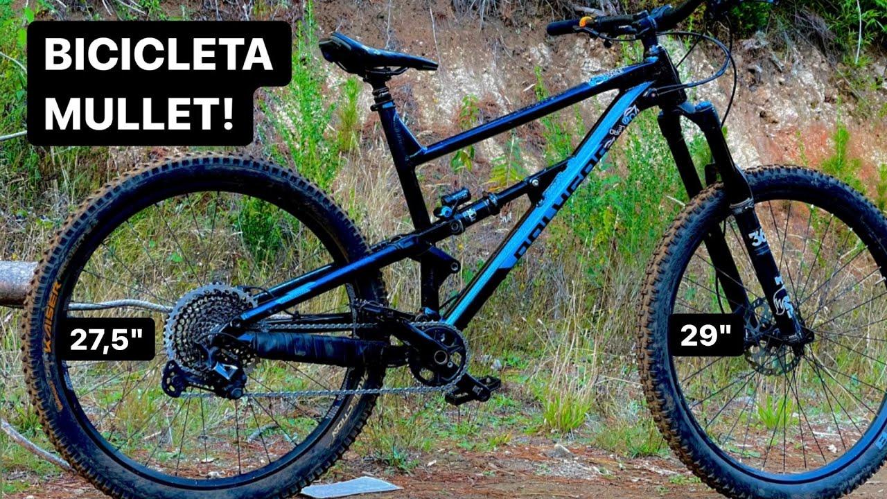 """Probando una Bicicleta 29"""" con una Rueda 27,5"""" atrás!"""