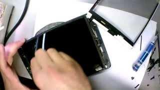 видео Установка и снятие тачскрина iPad mini
