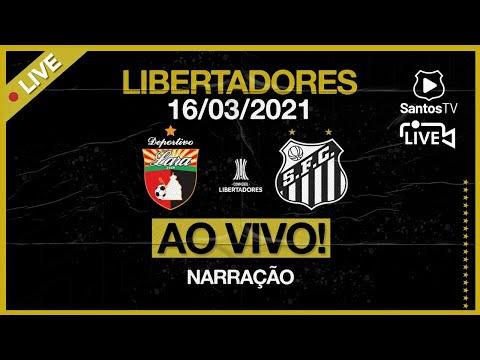 🔴 AO VIVO: DEPORTIVO LARA 1 x 1 SANTOS | CONMEBOL LIBERTADORES (16/03/21)