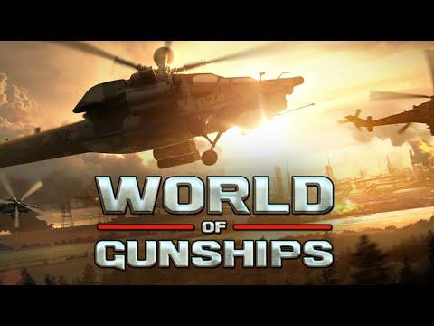 World of Gunships - БОИ НА ВЕРТОЛЕТАХ