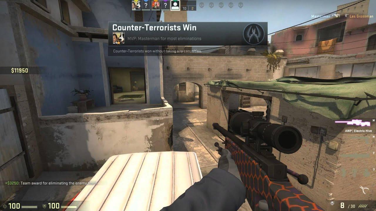 Cs go the game стандартные пушки кс го
