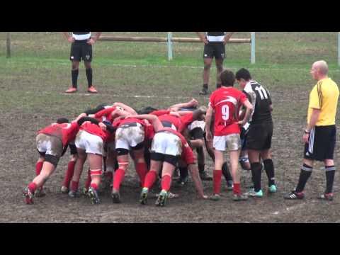 PRJU16 – G1 – Treviso 14/12/2014. Rugby Ruggers Tarvisium U16 VS Petrarca Rugby Junior U16