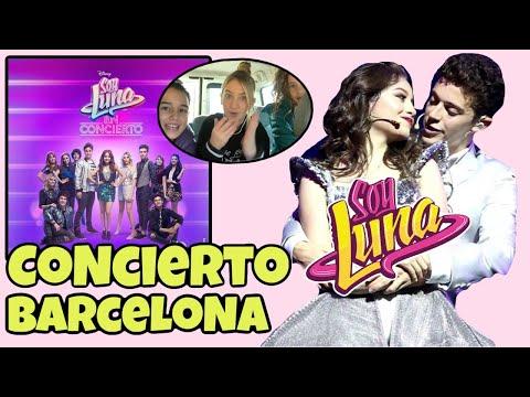 Soy Luna live 2018 concierto en Barcelona/con Pinkys Girls en español