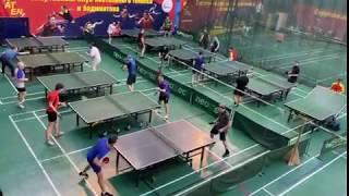 Групповые тренировки по настольному теннису на Юго-Западной в клубе NATEN