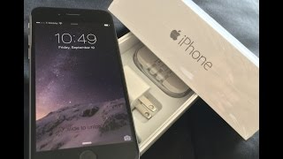 iPhone 6 (Unboxing) on T-Mobile 4G/LTE