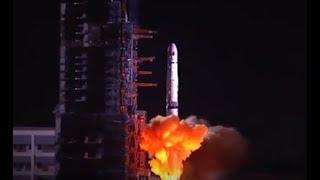China launches relay satellite to explore Moon's far side | CCTV English