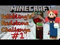 Sethbling's Redstone Challenge Part 1 --(Teaching Redstone)