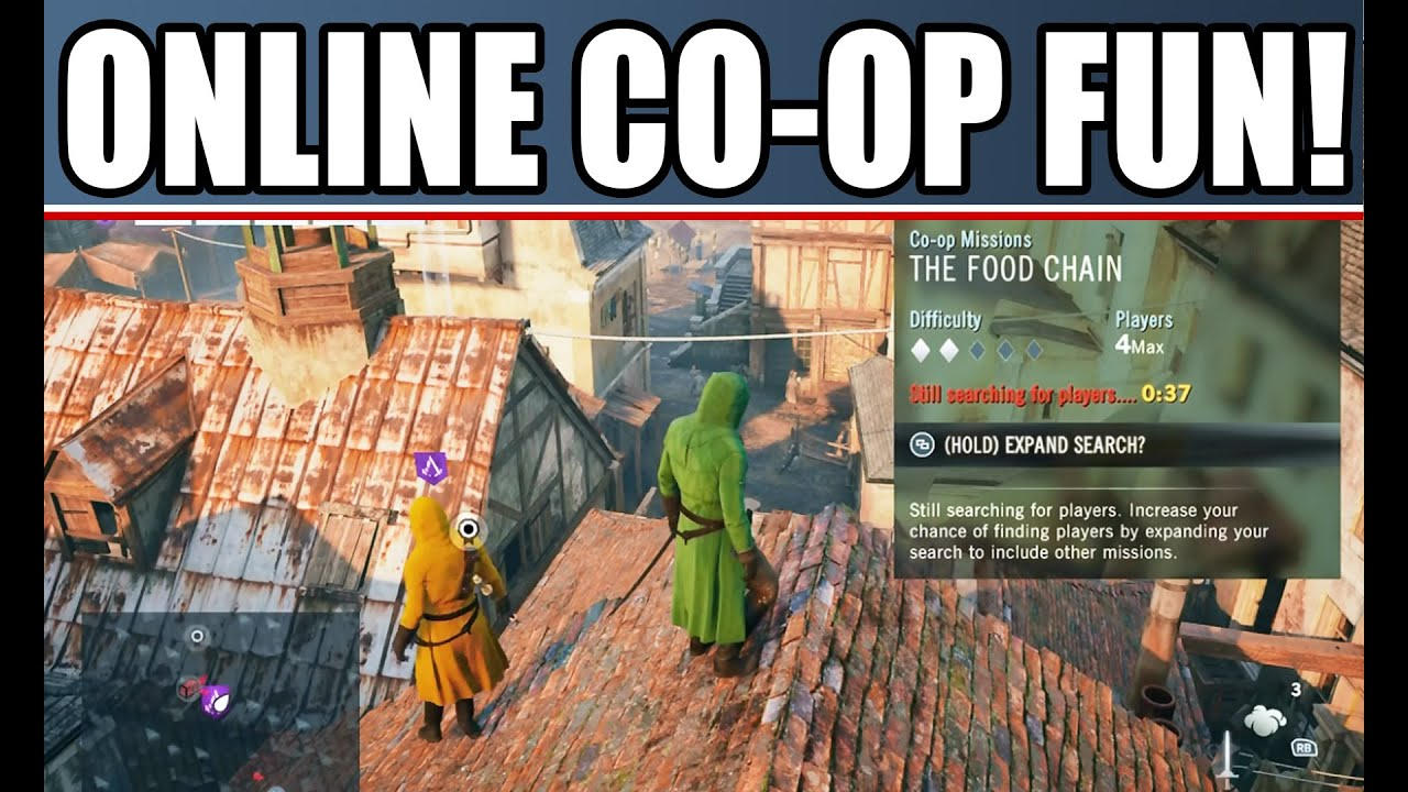 Assassin S Creed Unity Multiplayer Coop Gameplay Online Free Roam