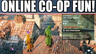 Assassin's Creed Unity Multiplayer Coop Gameplay: ONLINE FREE ROAM! FUNNY MOMENTS! Funtage! Heist!