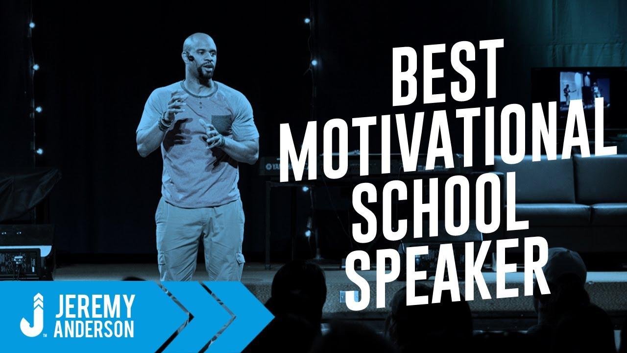 BEST Motivational speaker for Students & Teachers | Jeremy Anderson