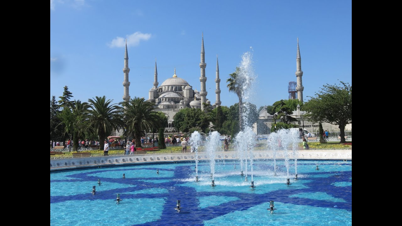 Sultan Ahmed Mosque blue mosque, Istanbul, Turkey - YouTube