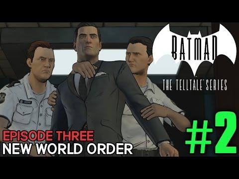 "Batman The Telltale Series Episode 3 ""New World Order"" Playthrough Part 2 - CEO of Wayne Enterprises"