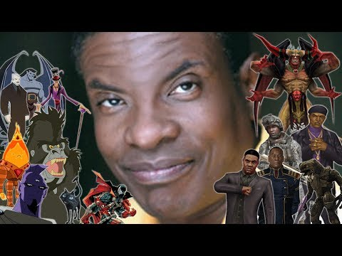 """The Many Voices of """"Keith David"""" In Animation & Video Games"""