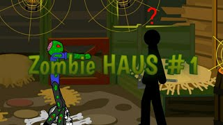 Zombie HAUS #1 - Зомби апокалипсис в Рисуем Мультфильмы 2 (анимация)